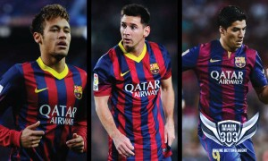 Lionel Messi Neymar and suarez